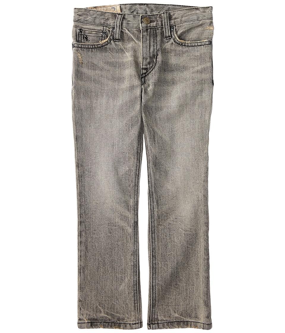 Polo Ralph Lauren Kids - Skinny Fit Denim Jeans in Chip Wash (Little Kids) (Chip Wash) Boy's Jeans