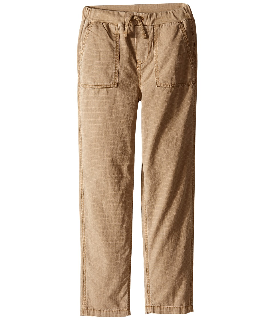 Polo Ralph Lauren Kids - Ripstop Jogger Pants (Little Kids) (Potomas Tan) Boy's Casual Pants