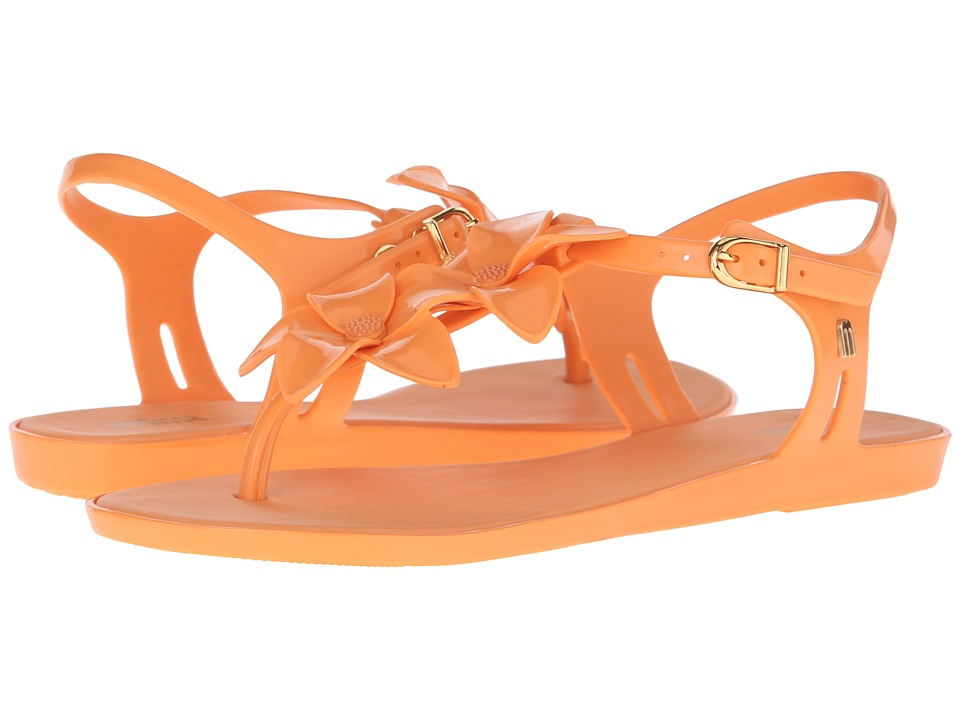 Melissa Shoes - Solar Garden II (Dark Orange) Women's Dress Sandals