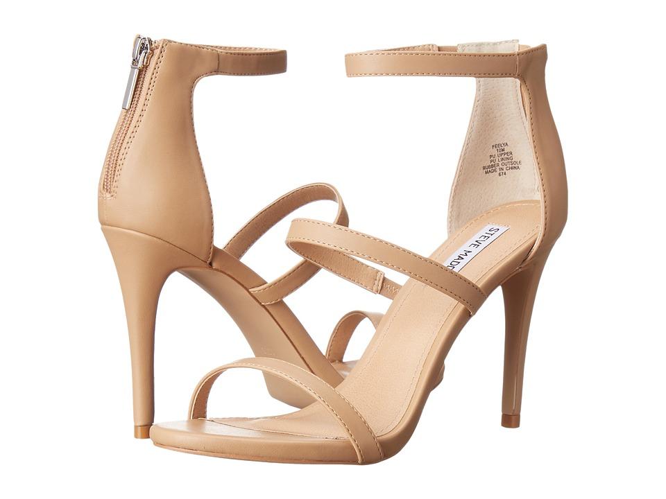 Steve Madden - Feelya (Natural Smooth) High Heels