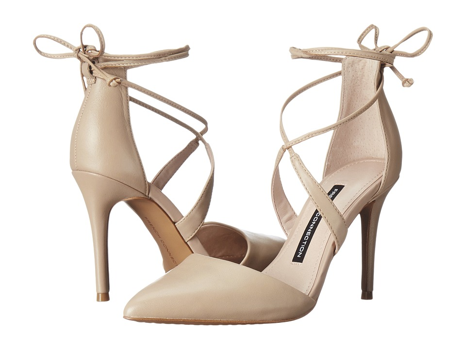 French Connection - Elise (Almost Nude Sheep Nappa) Women's Shoes