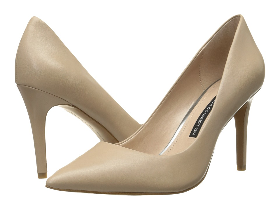 French Connection - Rosalie (Almost Nude Sheep Nappa) Women's Shoes