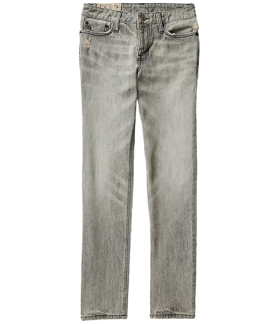 Polo Ralph Lauren Kids - Skinny Fit Denim Jeans in Chip Wash (Big Kids) (Chip Wash) Boy's Jeans