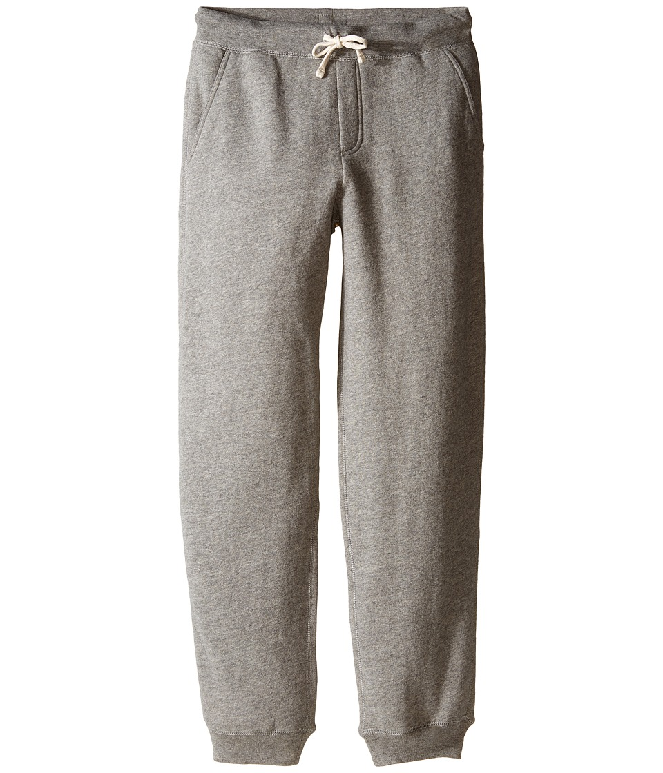 Polo Ralph Lauren Kids - Fleece PO Pants (Big Kids) (Batallion Heather) Boy's Casual Pants