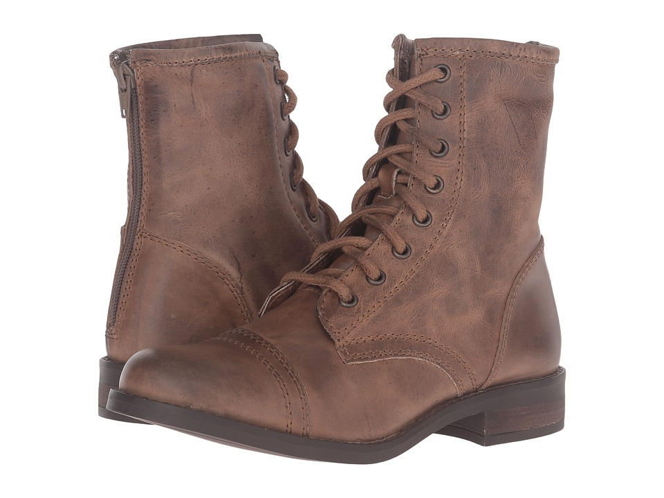 Steve Madden - Ciomi (Stone Leather) Women's Lace-up Boots