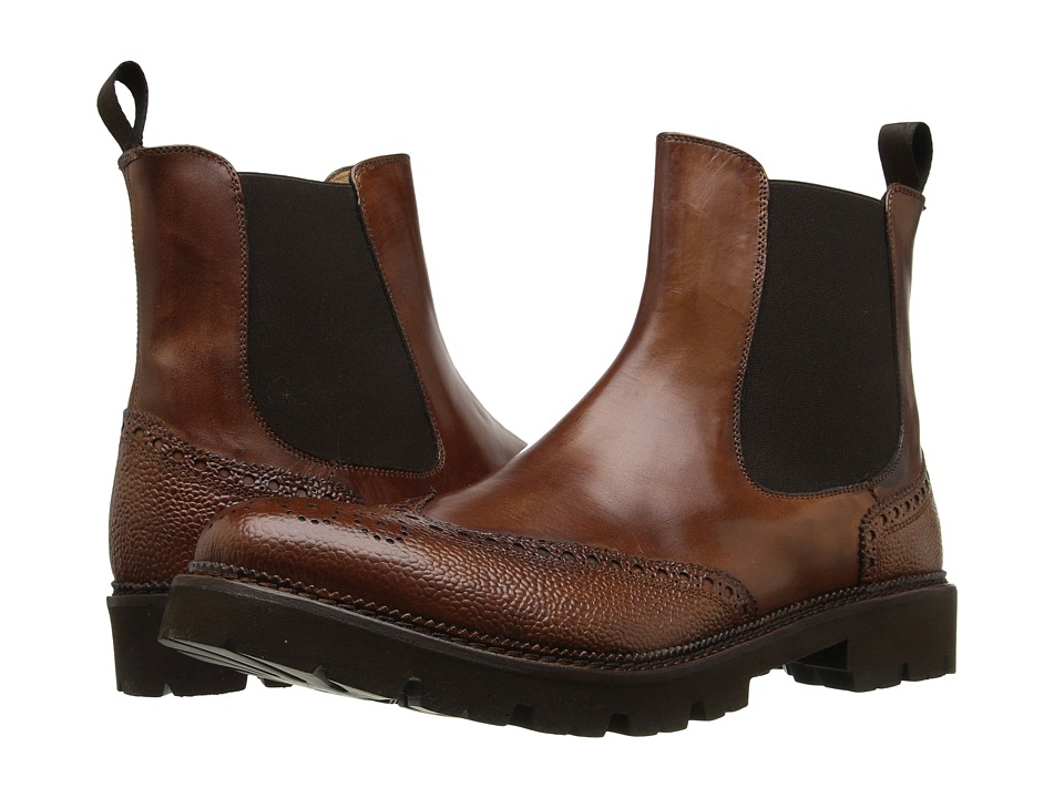 Kenneth Cole Black Label - Hi S-Core (Cognac) Men's Shoes