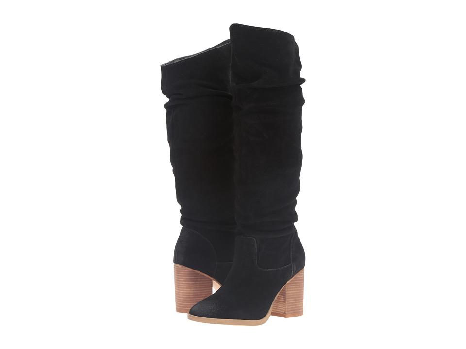 Steve Madden - Saantos (Black Suede) Women's Boots