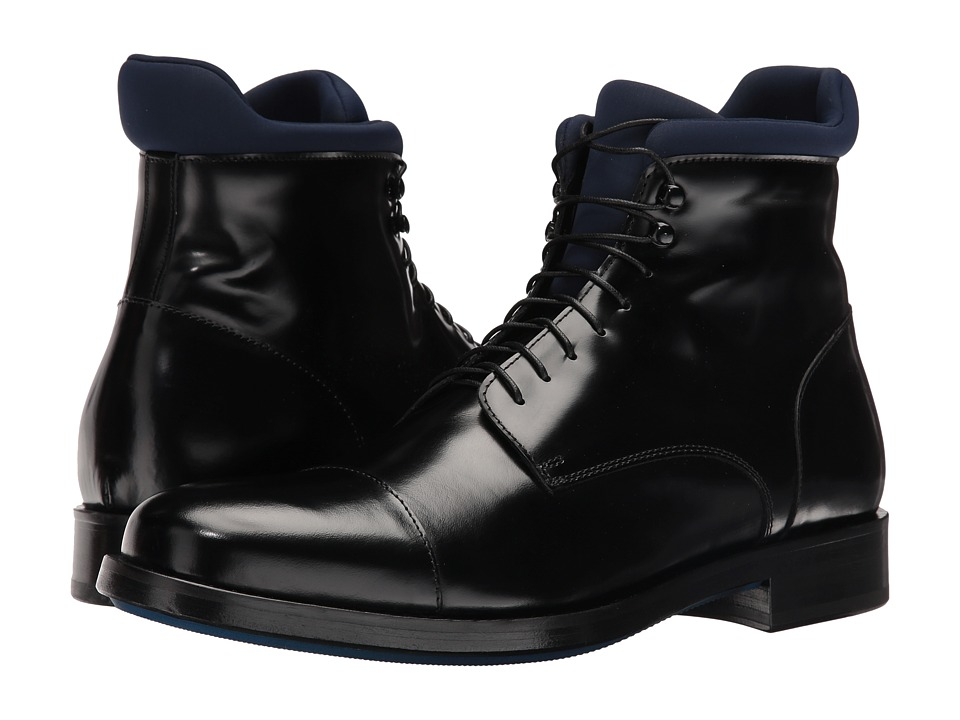 Kenneth Cole Black Label - Street Savy (Black) Men's Shoes