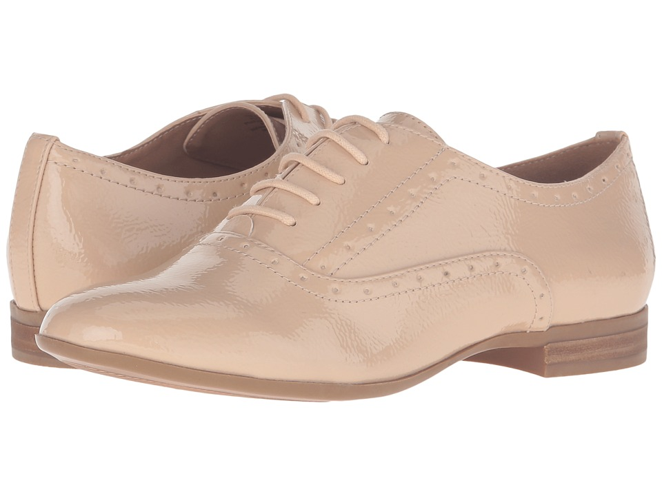 Steve Madden - Tipiee (Nude Patent) Women's Lace up casual Shoes