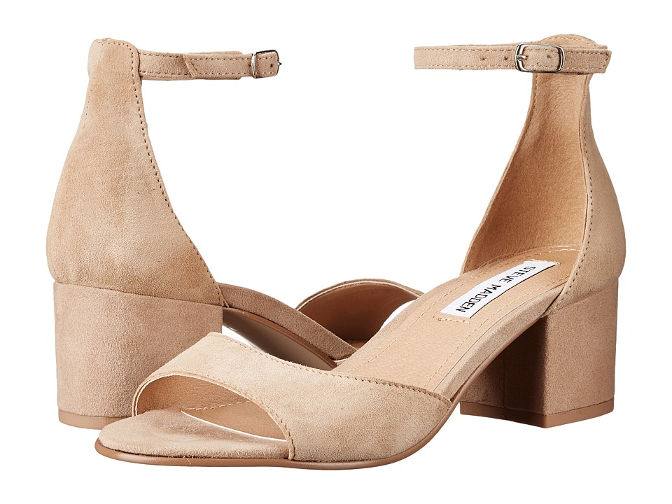 Steve Madden - Iiden (Tan Suede) Women's 1-2 inch heel Shoes