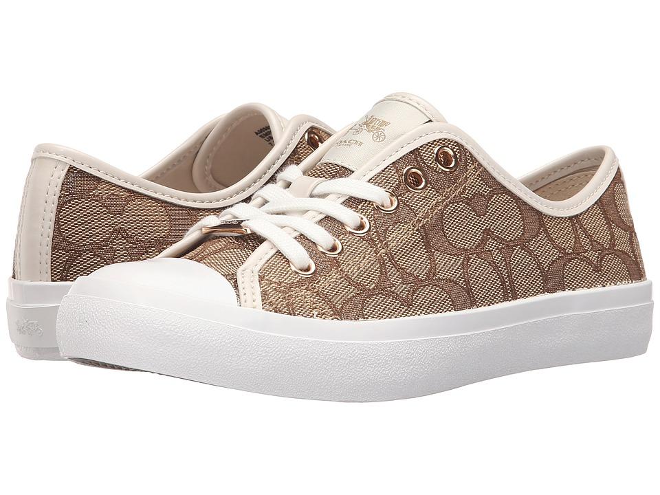 COACH - Empire (Khaki/Chalk) Women's Shoes
