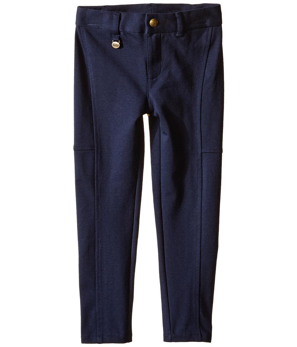 Polo Ralph Lauren Kids - Cotton Modal Knit Pants (Toddler) (Aviator Navy) Girl's Casual Pants