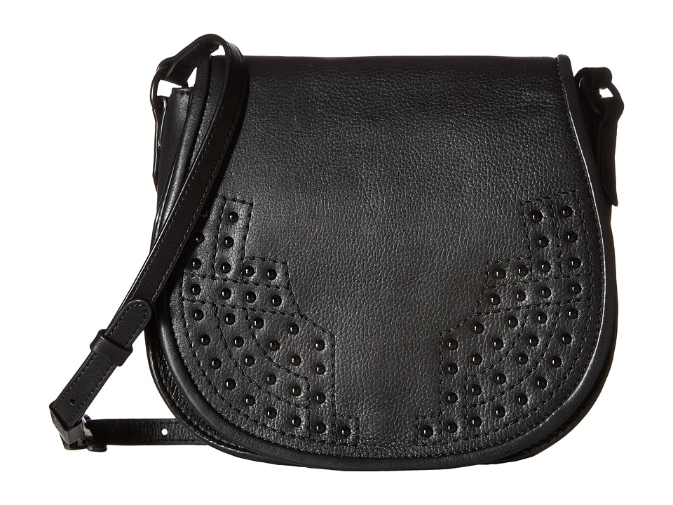 Foley & Corinna - Stevie Saddle Bag (Black) Bags