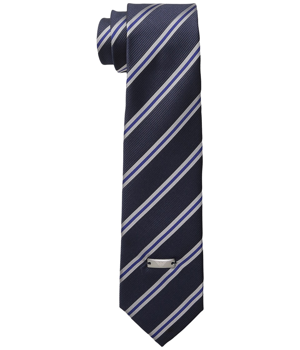 Armani Junior - Striped Tie (Bluette) Ties