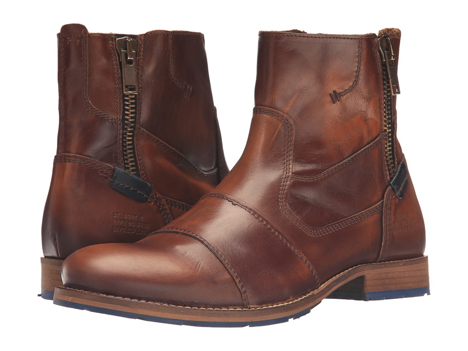 Dune London - Cackle (Tan Leather) Men's Boots