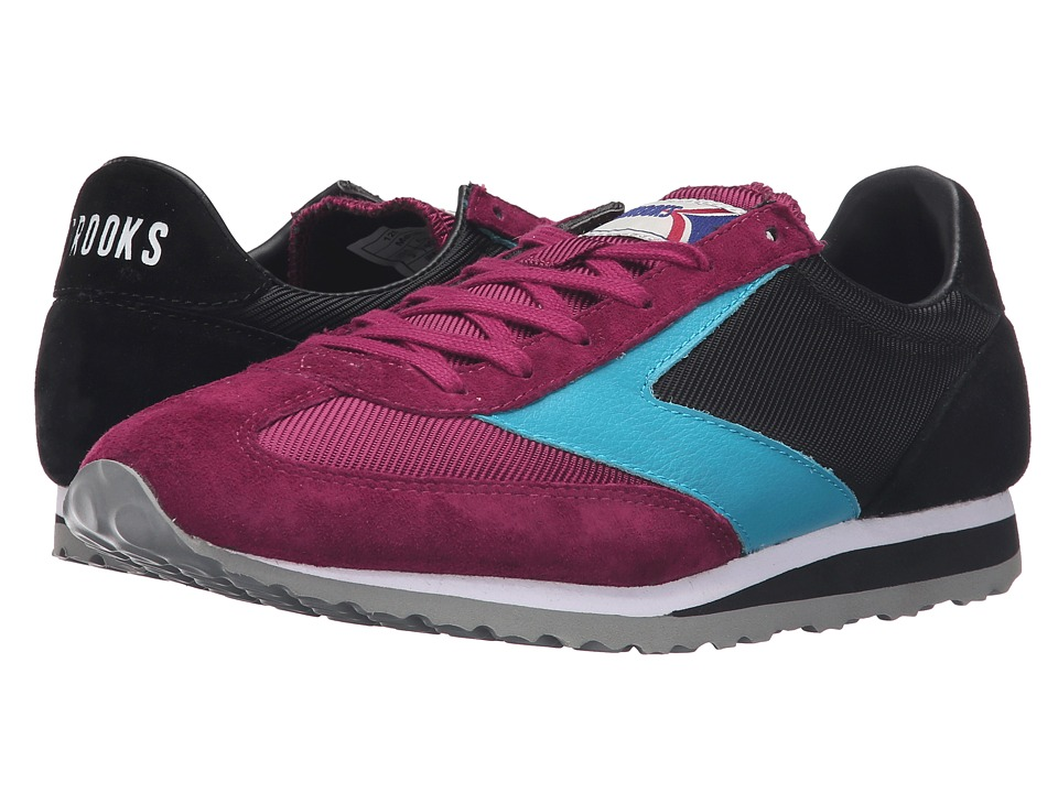 Brooks Heritage - Vanguard (Black/Beet Red/Tile Blue) Women's Shoes