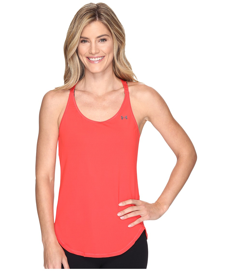 Under Armour - UA HeatGear(r) Armour Coolswitch Tank Top (Pomegranate/Pomegranate) Women's Sleeveless