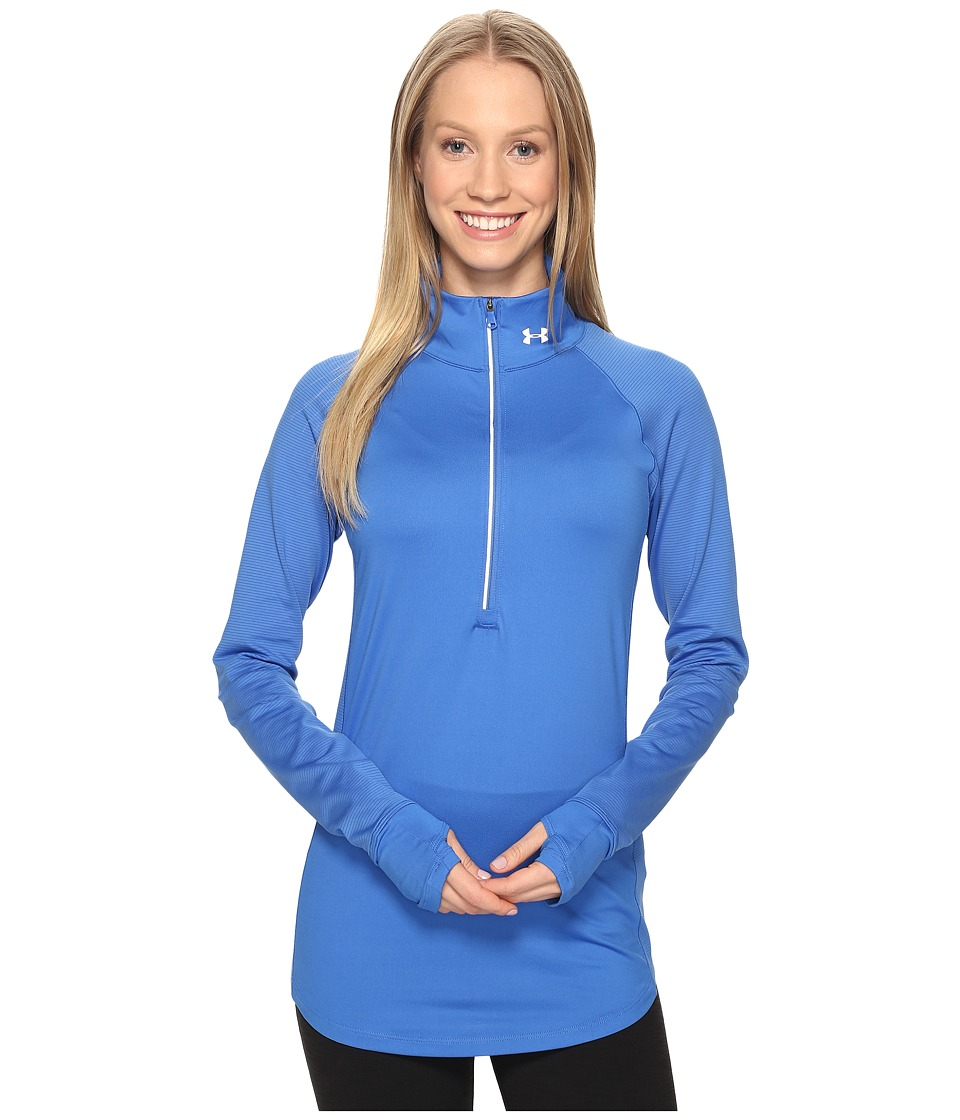 Under Armour - UA Layered Up 1/2 Zip (Mediterranean/Mediterranean) Women's Long Sleeve Pullover