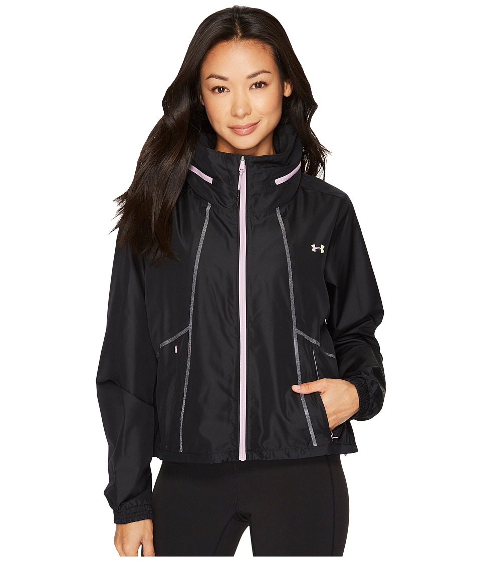 Under Armour UA Accelerate Packable Jacket (Black/Fresh Orchid) Women