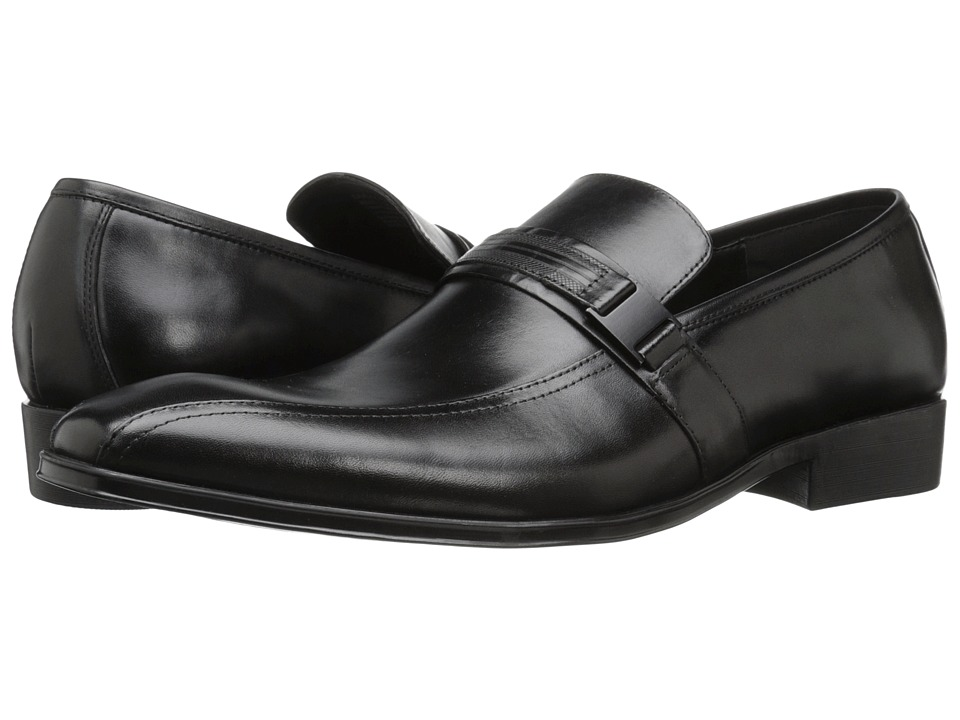 Kenneth Cole Reaction - Save-Ty First (Black) Men's Slip on Shoes