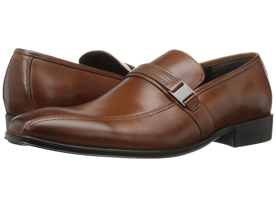 Kenneth Cole Reaction - Save-Ty First (Cognac) Men's Slip on Shoes