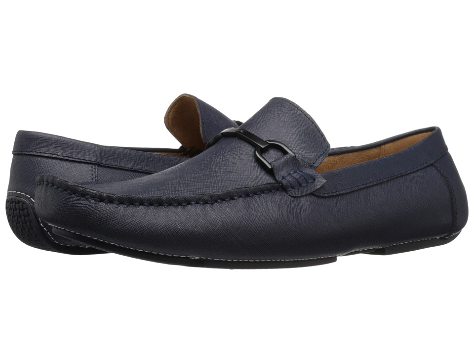 Kenneth Cole Reaction - Sound System (Midnight Navy) Men's Slip on Shoes