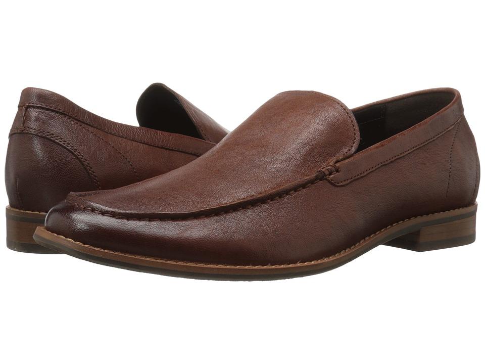 Kenneth Cole Reaction - Follow My Lead (Cognac) Men's Slip on Shoes