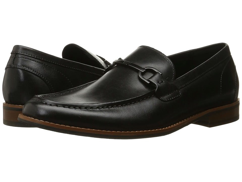 Kenneth Cole Reaction - Lead-Er (Black) Men's Slip on Shoes