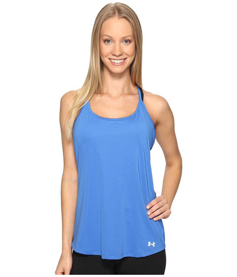 Under Armour Fly By Racerback Tank Top (Mediterranean) Women