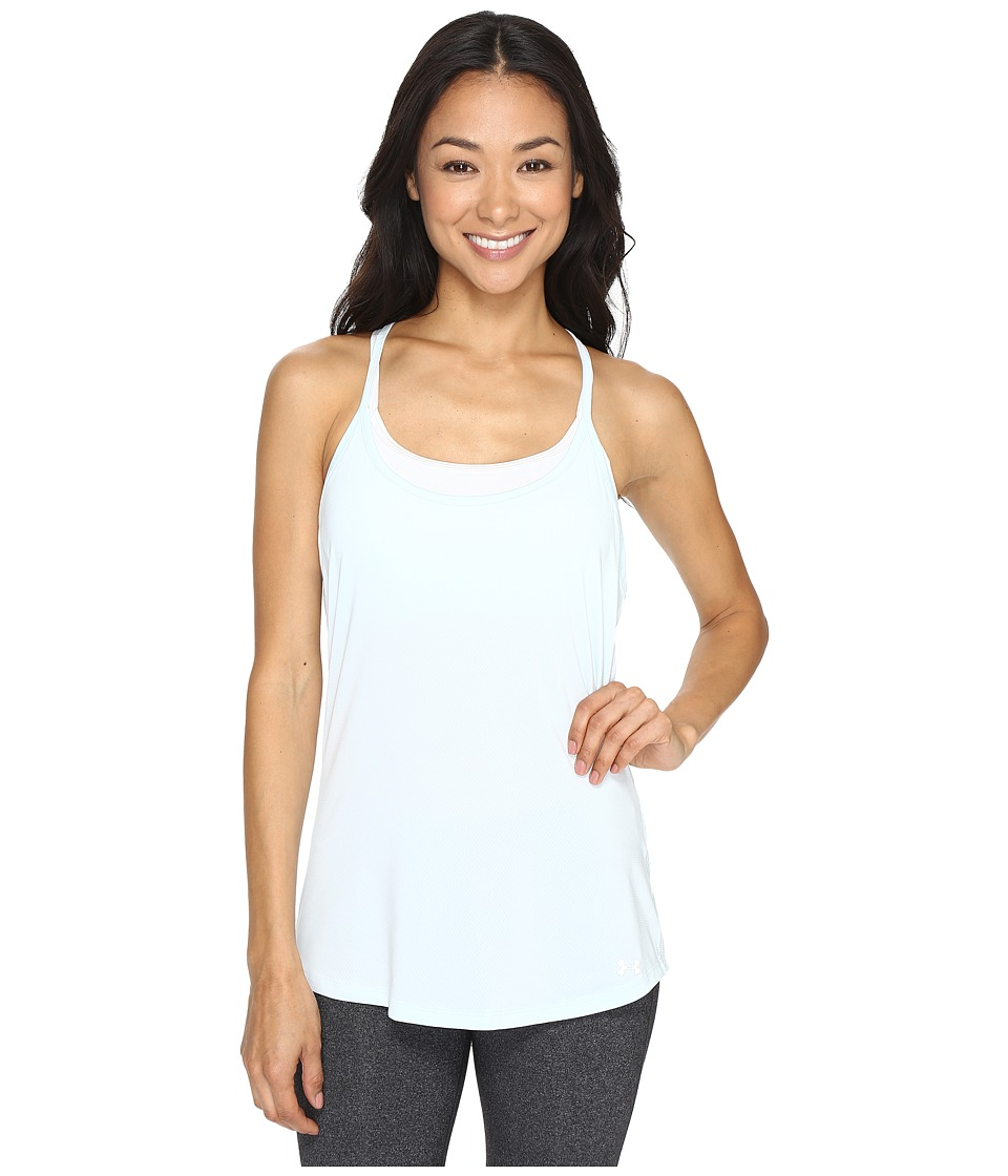 Under Armour Fly By Racerback Tank Top (Skylight) Women