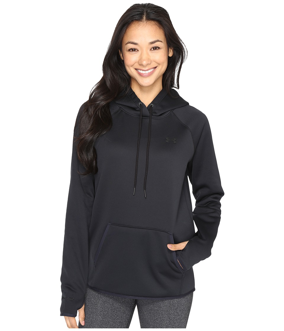 Under Armour - UA Storm AF Icon Hoodie (Black/Black) Women's Sweatshirt