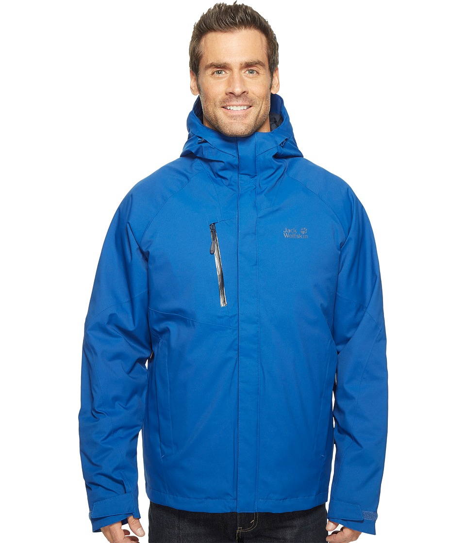 Jack Wolfskin - Troposphere DF O2+ Insulated Jacket (Deep Sea Blue) Men's Coat
