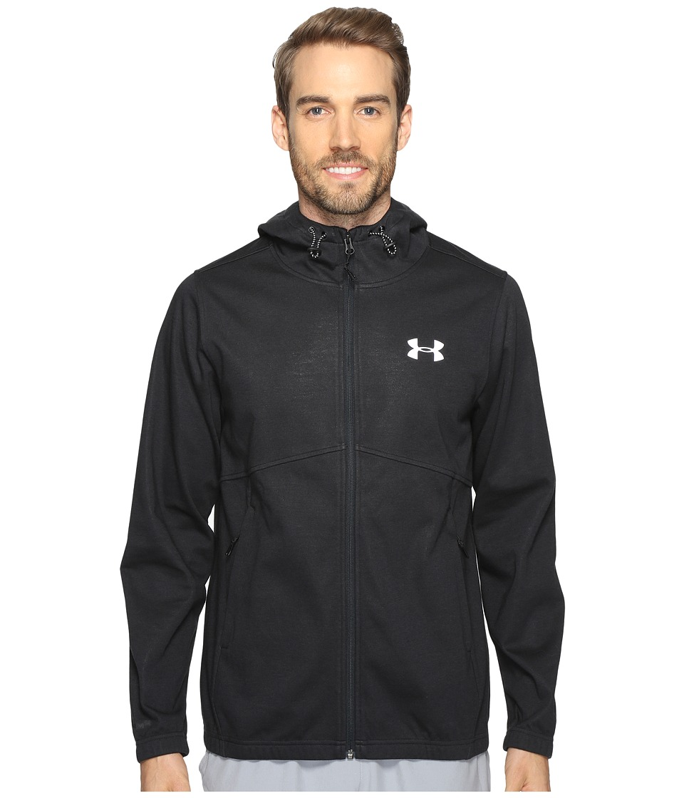 Under Armour - Spring Swacket Full Zip (Black/Black) Men's Clothing
