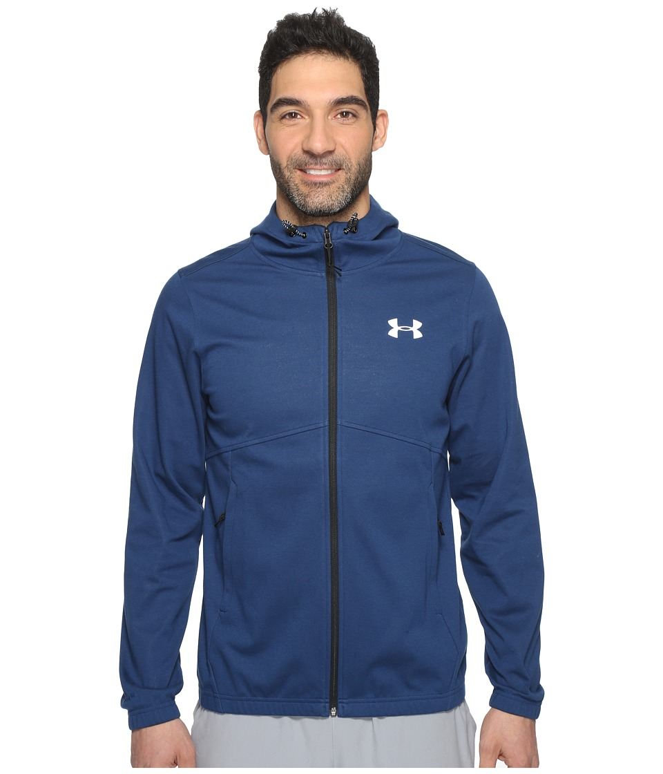 Under Armour - Spring Swacket Full Zip (Blackout Navy/Blackout Navy) Men's Clothing