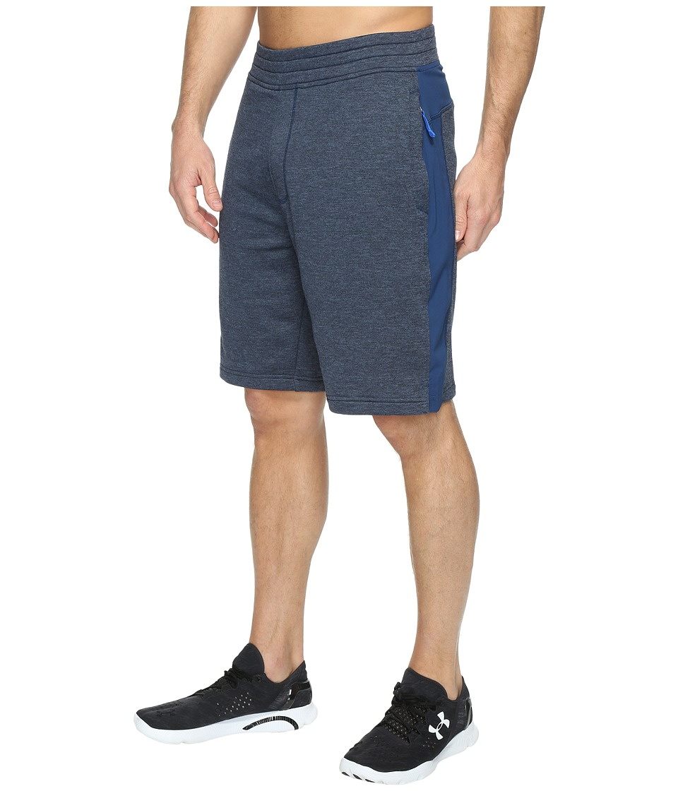 Under Armour - Tech Terry Shorts (Blackout Navy/Blackout Navy) Men's Shorts