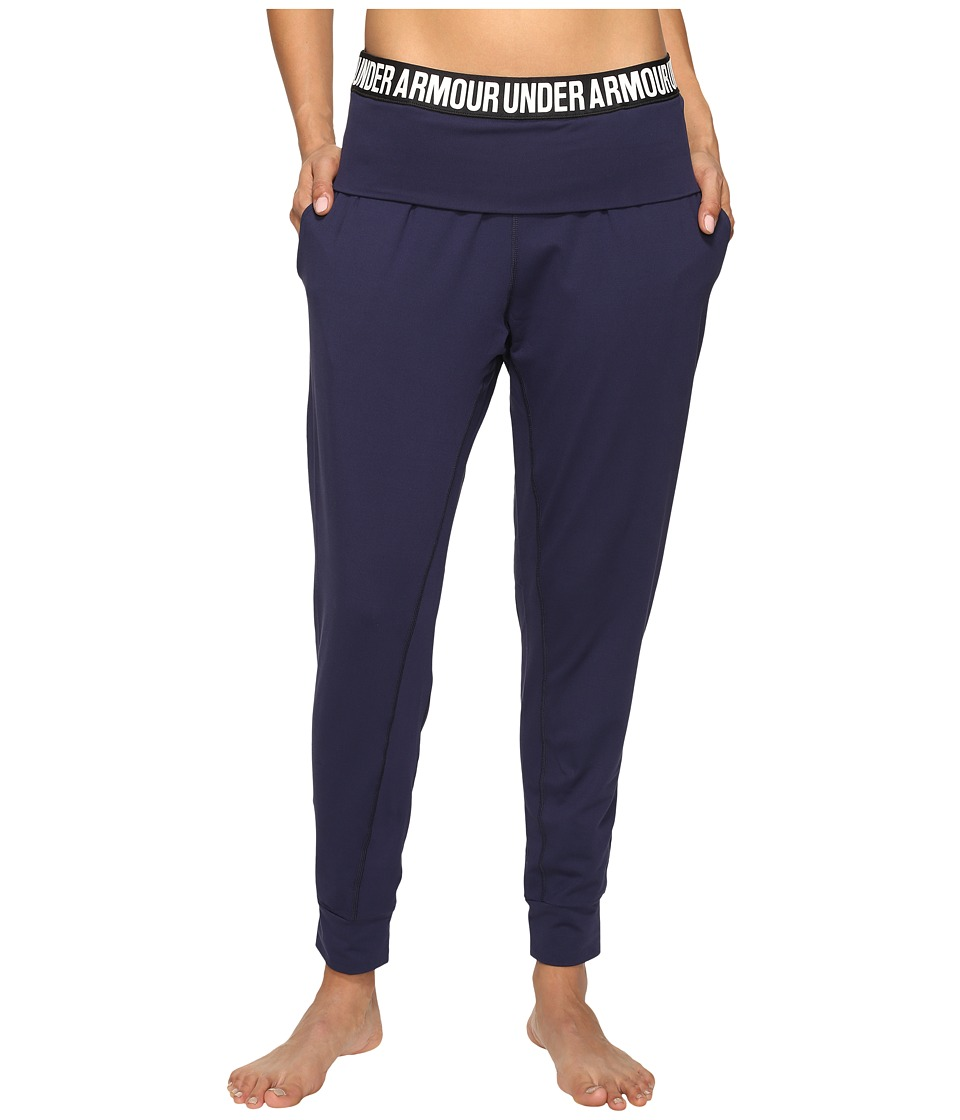 Under Armour - Uptown Jogger Pants (Midnight Navy/Black) Women's Workout