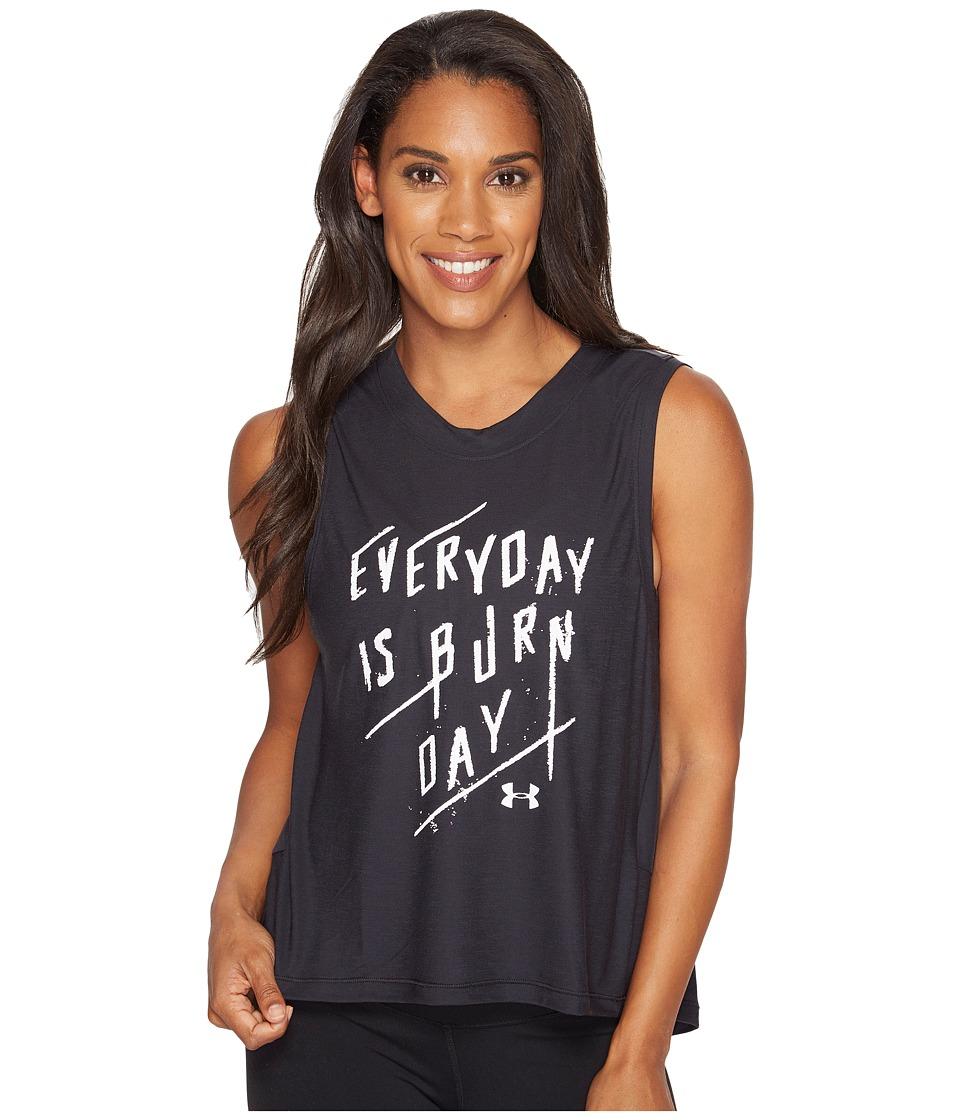 Under Armour Supreme Everyday Burn Day Tank Top (Black) Women