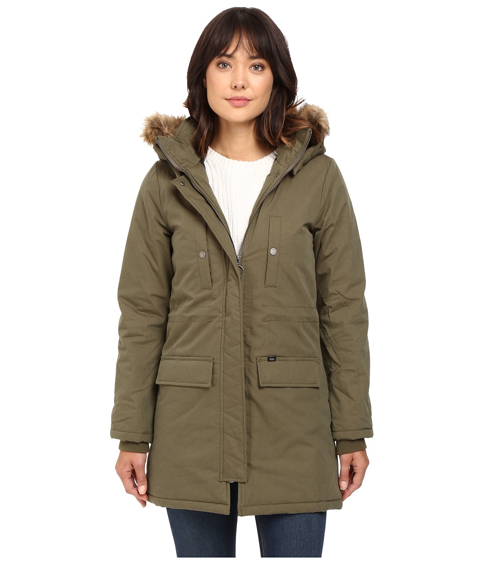 Vans - Off Key Parka Mountain Edition (Ivy Green) Women's Coat