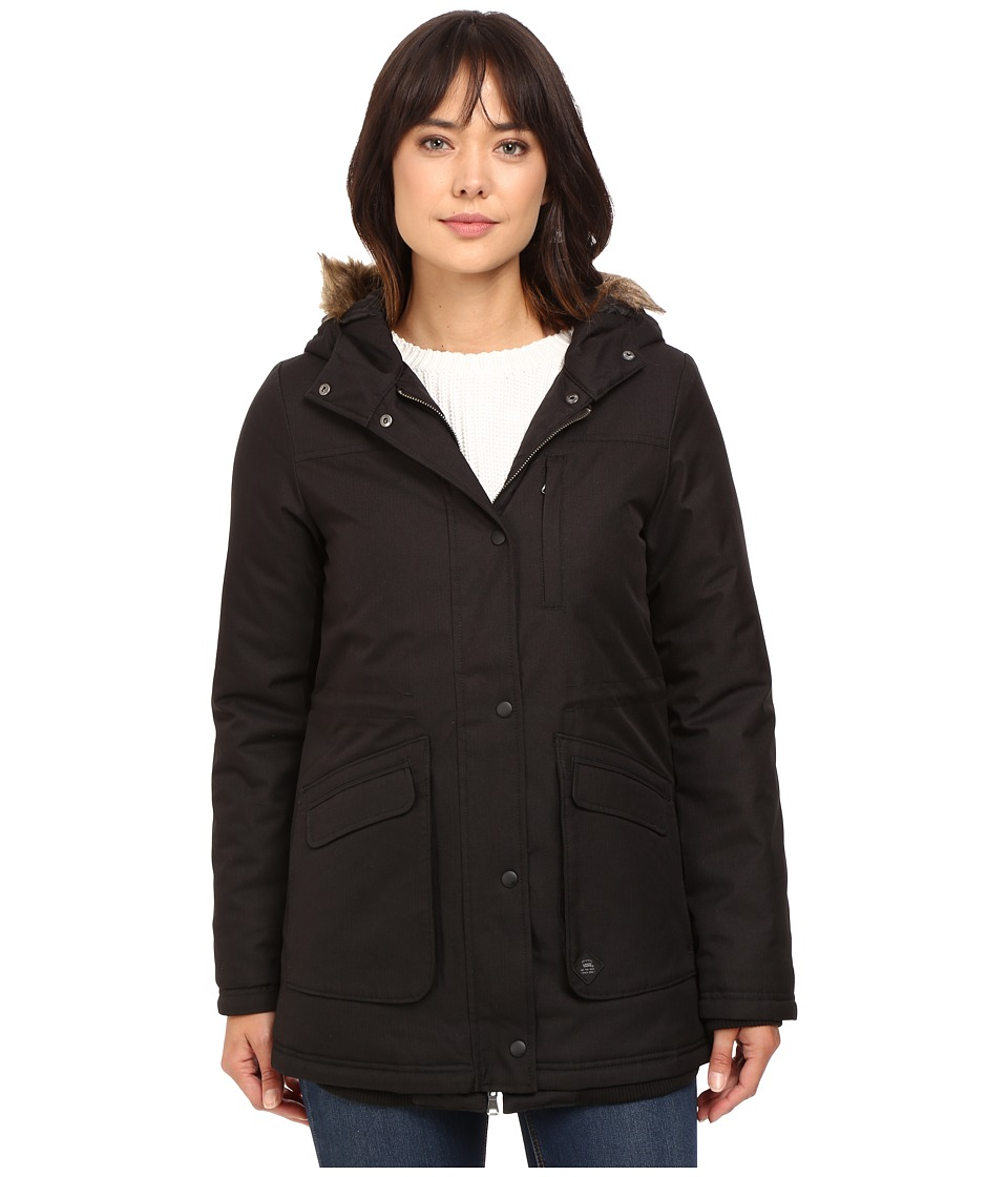 Vans - Cadet Parka Mountain Edition (Black) Women's Coat
