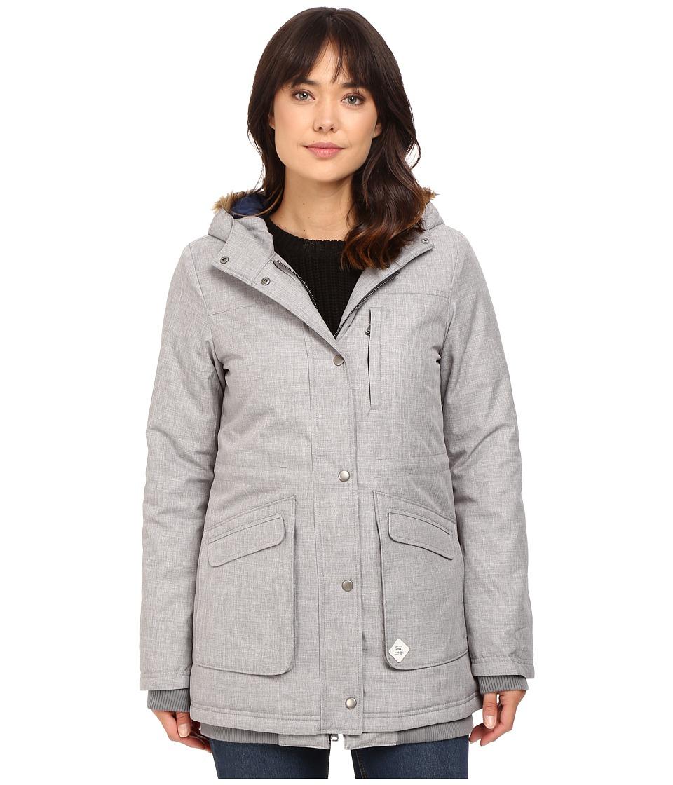 Vans - Cadet Parka Mountain Edition (Grey Heather) Women's Coat
