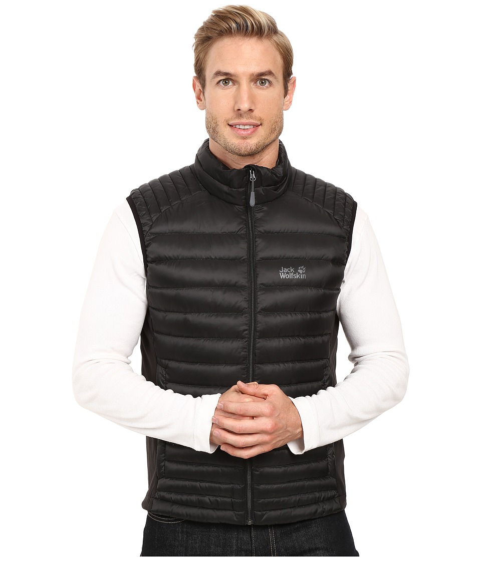 Jack Wolfskin - Atmosphere Flex Vest (Black) Men's Vest