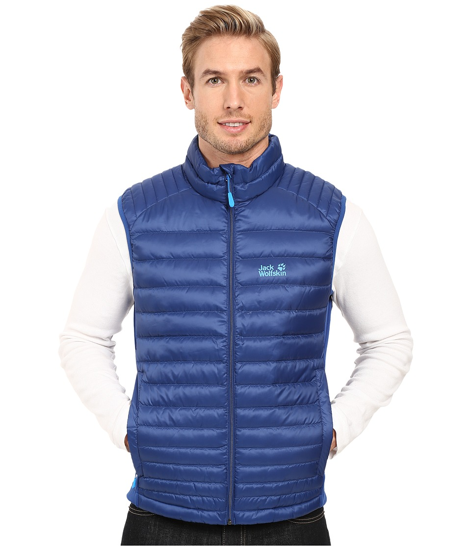 Jack Wolfskin - Atmosphere Flex Vest (Deep Sea Blue) Men's Vest