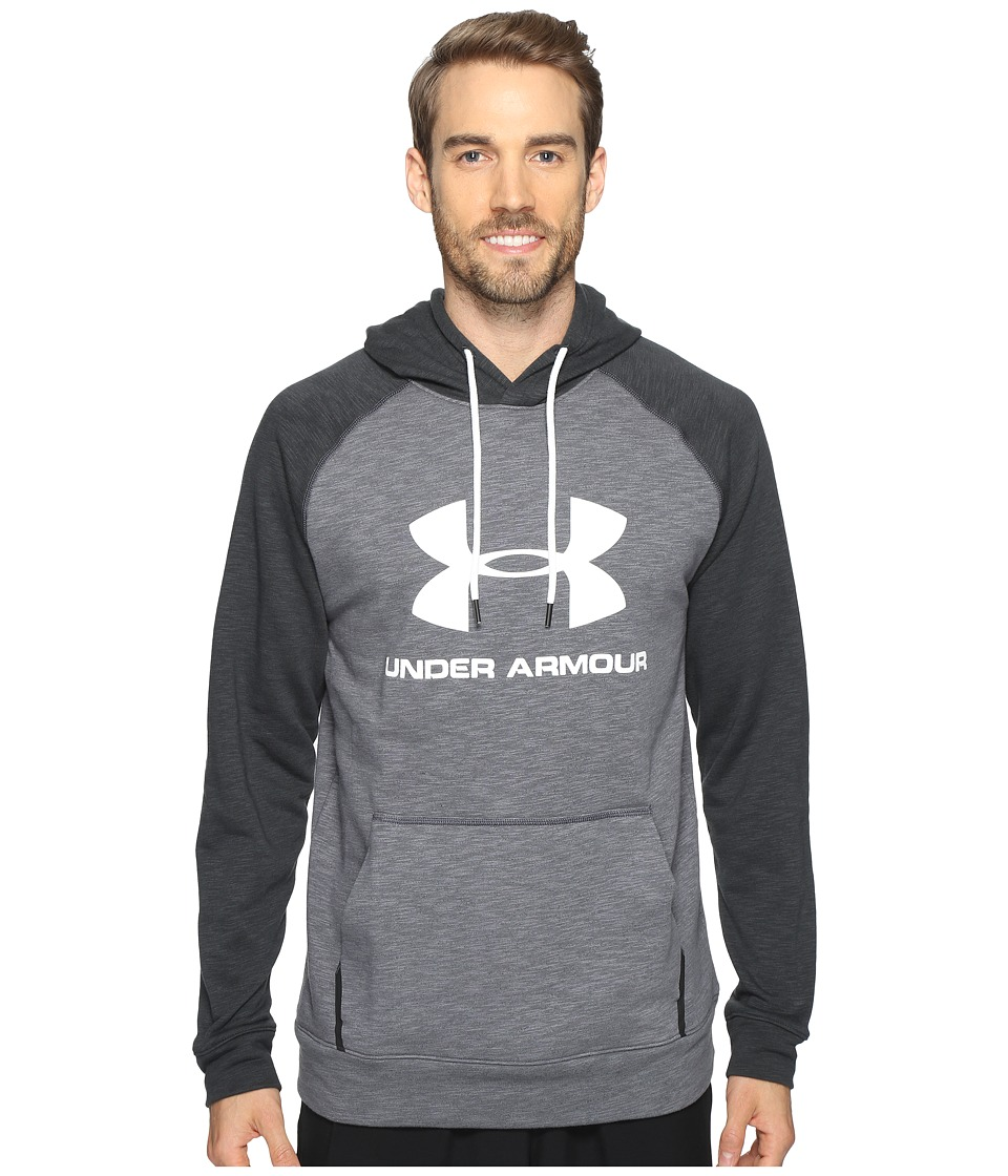 Under Armour - Sportstyle Tri-Blend Pullover (Stealth Gray/Black) Men's Clothing