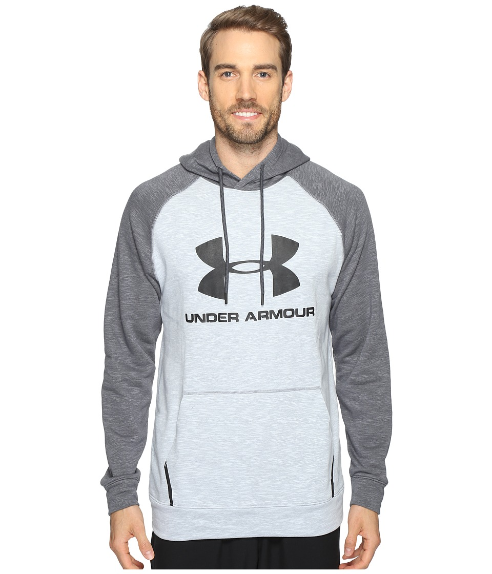 Under Armour Sportstyle Tri-Blend Pullover (Overcast Gray/Stealth Gray) Men
