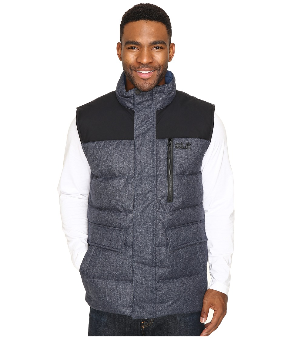 Jack Wolfskin - Baffin Bay Vest (Night Blue) Men's Vest