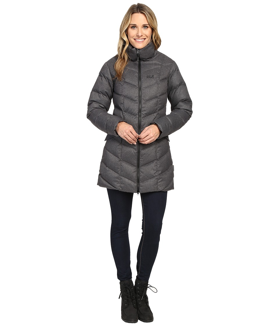 Jack Wolfskin - Baffin Bay Coat (Black) Women's Coat