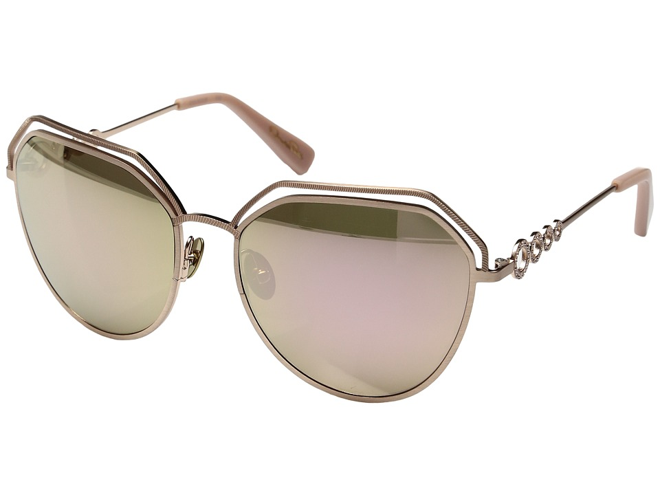 Oscar de la Renta - ODLRS-220 (Matte Rose Gold) Fashion Sunglasses