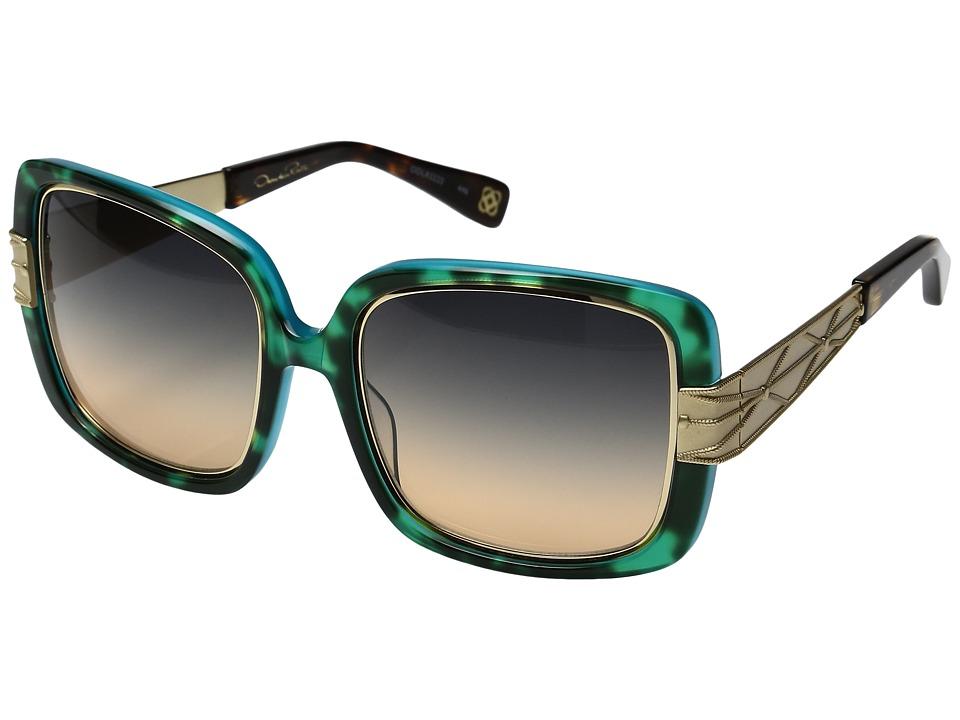 Oscar de la Renta - ODLRS-222 (Turquoise Tort) Fashion Sunglasses