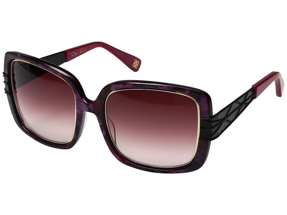 Oscar de la Renta - ODLRS-222 (Berry/Pink) Fashion Sunglasses