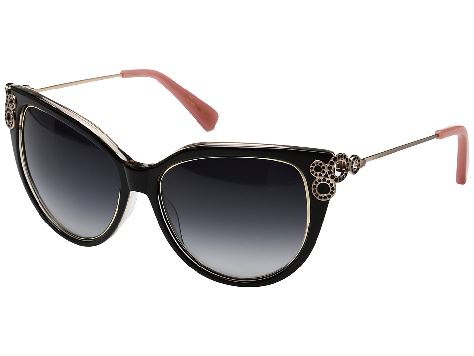 Oscar de la Renta - ODLRS-221 (Black/Taupe) Fashion Sunglasses